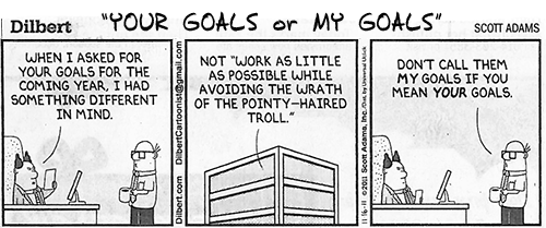 Whose Goals Are These?
